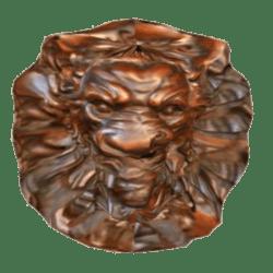Lion Head Wall Deco