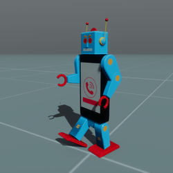 Robo-Call Robot Toy