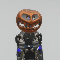 Pumpkin'o'metallic