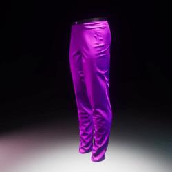 Trousers Silk Purple