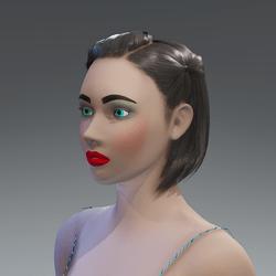 X - Alina - Chocolate Skin Avatar