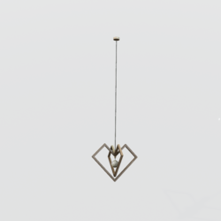 Heart Cage Ceiling Lamp