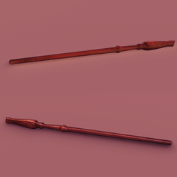 HP Wand red wood
