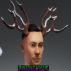 Snow antlers