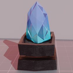 MMO Crystal experimental colors