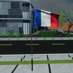 TKA Animate Flag France