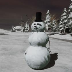 A snowman Avatar