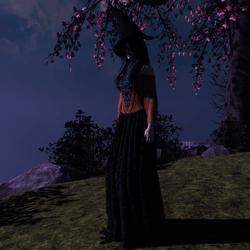 Orange Witch's Costume