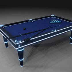 Billiards Neon
