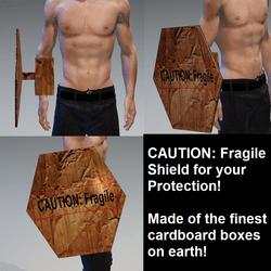 CAUTION: Fragile - Shield