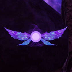 Purple Pixie Pet [Earing Slot]