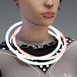 glowstick neck rgb