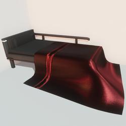 Modern bed - rd
