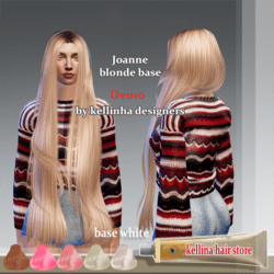 joanne demo -blonde base