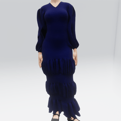 Ruffle Dress (TM)
