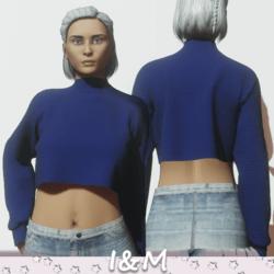 pullover blue