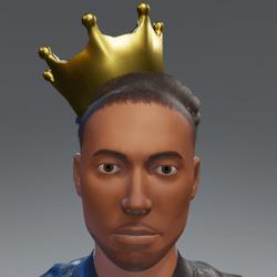 Gunmetal Crown♂