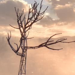 sci-fi tree