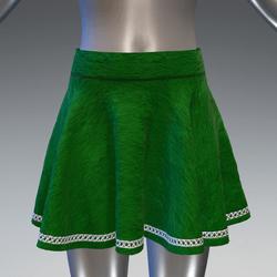 Elf skirt - green