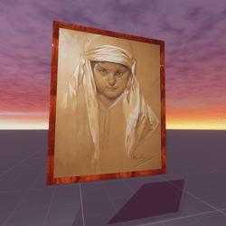 Portrait of a Girl Alphonse Mucha
