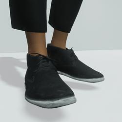 TKA Black Safari boots  (  women )