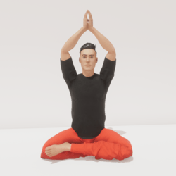 meditation 8 to the sky male