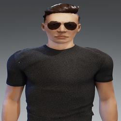 [URBAN FRESH] Mens soft Grey shirt