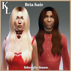 Bria hair -base blonde