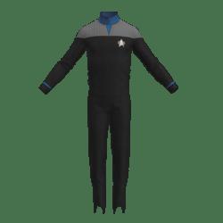 Star Trek DS9 Replica for roleplay BLUE