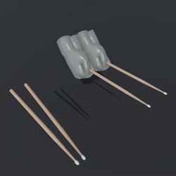World version drumsticks