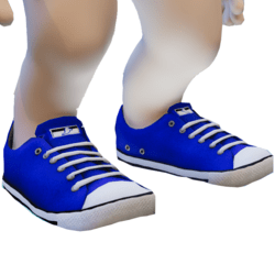 Rigged Blue Sneakers Minis