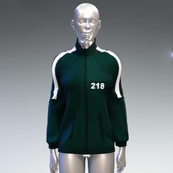 """Squid game"" style sweat jacket female 218"