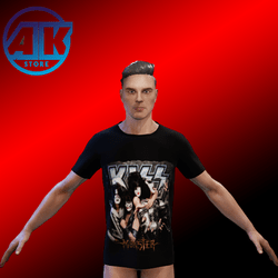 Shirt For Men Rock and Roll