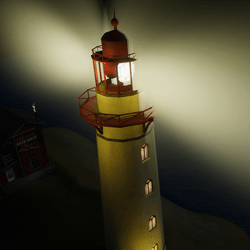 Animated lighthouse