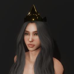 Gold Queen Tiara