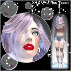 X4 - V4 Red Tessa Avatar