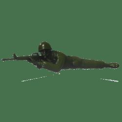 Plastic Soldier Rifle