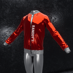 Jacket Chrome red