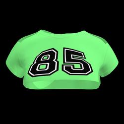 Sexy 85 Crop Top (Pastel Green)