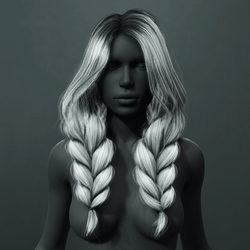 Kira - Braided Pigtails Hair