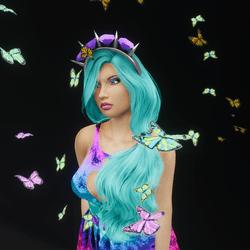 Fluttering Butterfly Friends