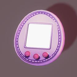Tamagotchi 5u violet
