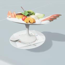 Dessert Cream Cup