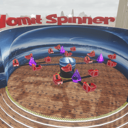 Vomit Spinner With Sit Points (TM)