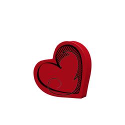 heart-vase