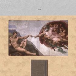 Art - The Creation of Adam 1511 Michelangelo