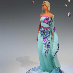 Sari Gown #5