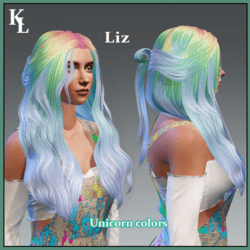 Liz -unicorn colors-fit all avatars in mp -take a look at others colors!