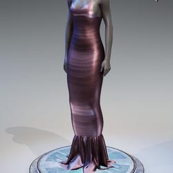 Pentagram Evening Gown [Pink]