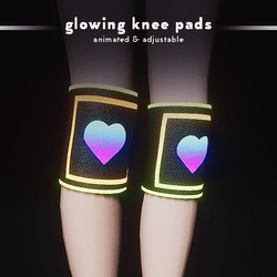 RGB Glowing Kneepads (F/M)